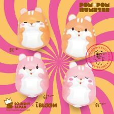 Squishy Fun I-Bloom Pom Pom Hamster Slow Rising Toy Squeeze Relieve Anxiet Gift