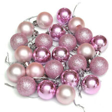 NEW YEAR 24Pcs Baubles Decor Balls Glitter Ornament Hanging Christmas Xmas Tree