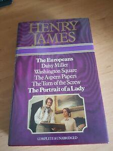 HENRY JAMES BCA OMNIBUS 6 books complete and unabridged HB The Europeans etc