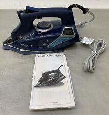 Rowenta DW9280 Digital Display Steam Iron, Stainless Steel Soleplate, 1800-Watt