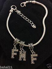 """Fmf Anklet Swinger Lifestyle Jewelry"" Threesome Hotwife Fetish Stud Bull Bbc 25"