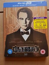 The Great Gatsby 3D + 2D Blu-Ray Steelbook Brand new and sealed