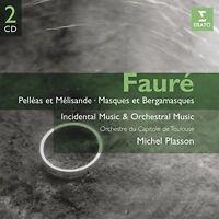 Michel Plasson - Faure: Pelleas et Melisande - Masques et Bergamasques [CD]