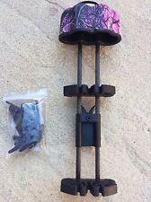 5 piezas Arrow quiver quick candado soporte de montaje Barro Rosa