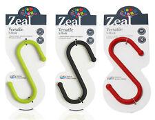 Zeal by CKS Versatile Metal S Hook Kitchen Bathroom Bedroom