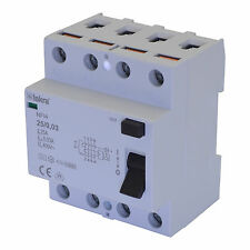 FI-Schutzschalter Fehlerstromschutzschalter RCCB Typ A 25A 4-Pole 30mA