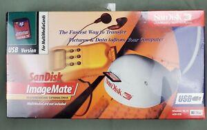 SanDisk ImageMate SDDR-12-01 External DriveMultiMedia Card Reader USB NEW