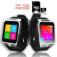 Indigi® NEW SmartWatch 3G Android 4.4 KitKat WiFi GPS Google Play - Free 32gb SD