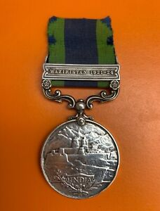 India general service medal with Waziristan 1921-1924 bar