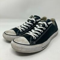 Converse Chuck Taylor All Star Shoes M9166 Low top in Black Men's 9 Wo's 11