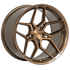 "19"" ROHANA RFX11 BRONZE FORGED CONCAVE STAGGERED WHEELS RIMS FITS ACURA TL"