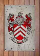 Bernard Coat of Arms A4 Aged Retro 10x8 Metal Sign Aluminium Heraldry