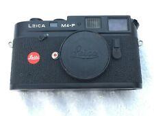 Leica M4-P Rangefinder 35mm Film Camera, Black, Body Only