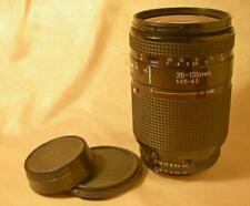 AF NIKKOR 35-135mm f3-4.5 ZOOM LENS 35-135/3.5-4 Nikon F mount Ai-S USABLE AS-IS