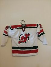 New Jersey Devils Inaugural Season Carol Vadnais NHL Game Used Hockey Jersey-LOA