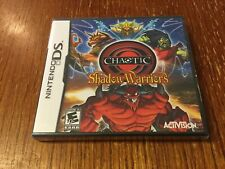 Chaotic: Shadow Warriors (Nintendo DS,) New And Unopened L Sealed