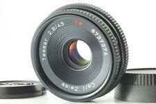 [N Mint] Contax Carl Zeiss Tessar T* 45mm f2.8 Lens AEJ Pancake From JAPAN #109