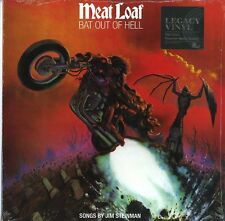 MEAT LOAF BAT OUT OF HELL VINILE LP 180 GRAMMI NUOVO SIGILLATO !