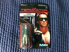 2014 Funko ReAction Terminator T-800 Terminator Figure Carded NrMt-Mt