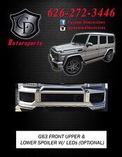 MERCEDES BENZ W463 G CLASS G63 Upper Bumper Scoop Spoiler SALE!!!