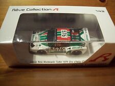 1/43 MINIMAX Reve LANCIA BETA di Turbo 1979 GIRO ITALIA #576 G. Villeneuve/Rohrl/GEIS