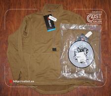 NEW! USMC Polartec Grid Fleece Power Dry Shirt PECKHAM Size LARGE Pullover MCWCS