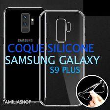 Housse coque transparente gel silicone souple samsung galaxy S9 PLUS