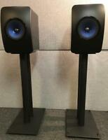 Kef LS50 all steel speaker stands by Vega AV