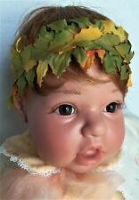"Lee Middleton AUTUMN ANGEL Baby Doll 21"" in Box w/ certificate, Reva Schick"