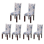 Jiuhong Stretch Removable Washable Short Dining Chair Protector Cover Slipcover