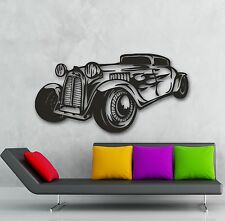 Wall Stickers Vinyl Decal Car Retro Vintage Garage Cool Decor (ig594)