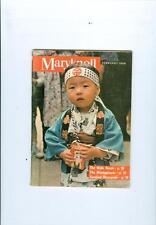 1966 Maryknoll Magazine: Japanese Boy/Male Nurse/Montagnards/Cardinal Wyszynski
