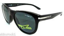 Auténtico Arnette Blowout Polarizados Gafas de Sol Negras 4142-41/81 Nuevo