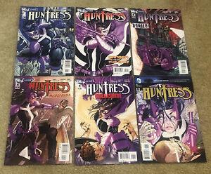 Huntress 1-6  DC Lot Set Run 2011 New 52 DC Free Shipping!