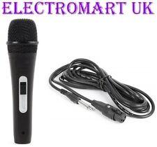 Hand Held Mic Micrófono Vocal Karaoke Dj sensación de goma suave al tacto Jack XLR