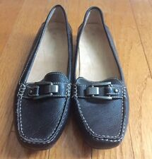 Naturalizer Womens Sophie Black Flat Shoes Size 7 M