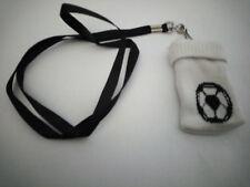 Chaussette Housse Pochette pour Téléphone Portable MP3 MP4 Ballon Foot blanc