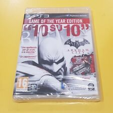 Batman Arkham City Game of The Year Edition GIOCO PS3 VERSIONE ITALIANA NUOVO