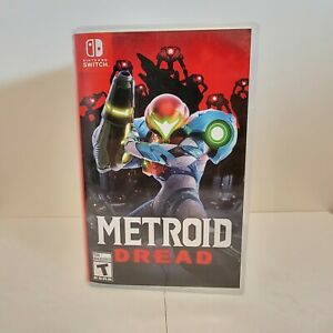 Metroid Dread Switch Replacement Case + Box Art Sleeve Original | No Game