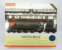 OO Gauge Hornby R2568 Devon Belle Train Pack - West Country Loco + 3x Coaches