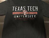 "Graphic T-shirt Men's Size MEDIUM ""TEXAS TECH"""