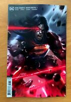 DARK NIGHTS DEATH METAL 1 2020 Francesco Mattina Superman Variant DC NM