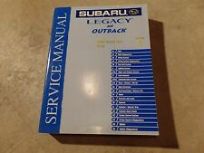2004 Subaru Legacy and Outback Factory Service Manual Vol 8 Body