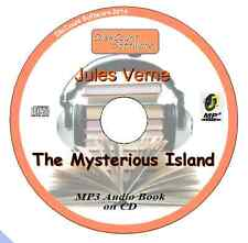 The Mysterious Island - Jules Verne  MP3 Audio Book CD in 63 episodes