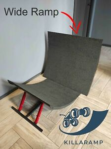 Adjustable foldable wide ramp for RC cars bashing Killaramp