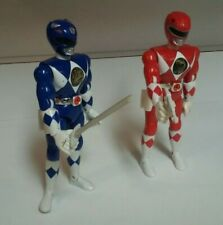 Mighty morphin power rangers Red And Blue 8 Inch Rangers