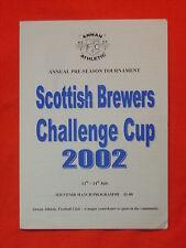 Scottish Brewers Challenge Cup 2002, Annan Athletic, Kilmarnock, Livingston, QOS