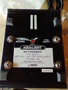 CORALIFE AQUALIGHT 175 WATT  METAL HALIDE BALLAST  AF175WSPC