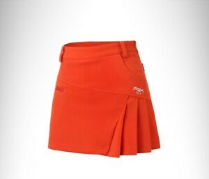 PGM Golf Skirt Women's Pants Skirt  Fashion Pleated Skirt Lining Safety Skirt