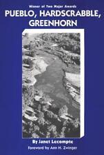 Pueblo, Hardscrabble, Greenhorn: Society on the High Plains, 1832-1856 (Paperbac
